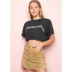 NWOT Brandy Melville Juliette Corduroy Skirt